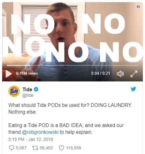 疯了吗?加拿大青少年流行拍摄吞食汰渍洗衣球