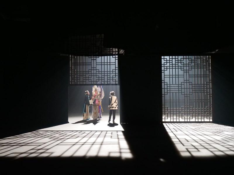 周采芹参与《上海的女儿》拍摄