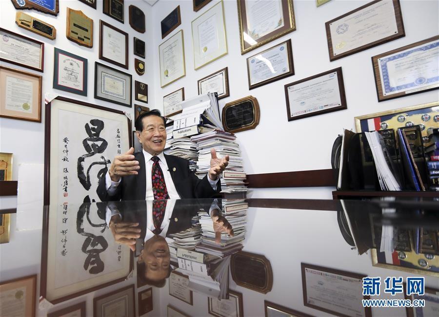 """(国际·图文互动)(3)专访:""""中国共产党做对了!""""——访美籍华裔刑事鉴识专家李昌钰"""