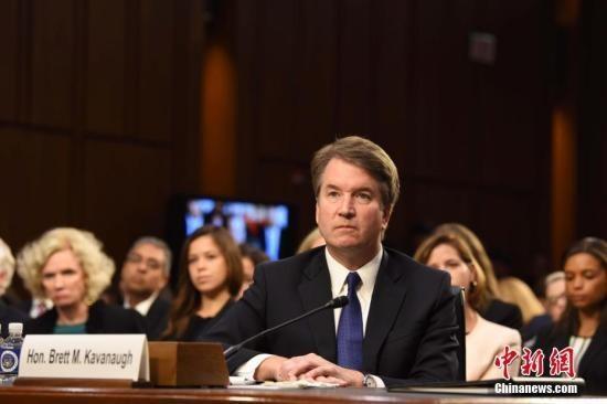 美国大法官卡瓦诺再涉性丑闻 民主党吁对其弹劾