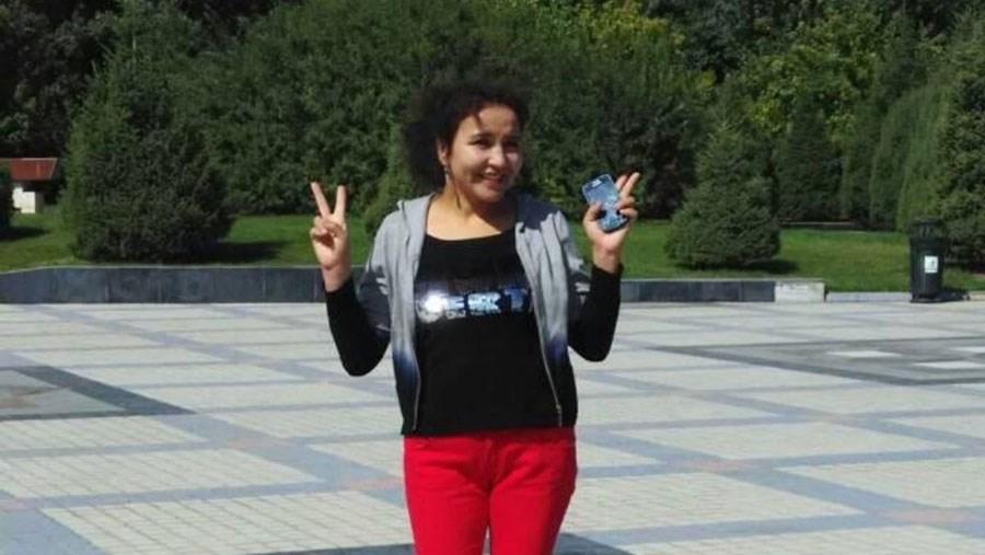 新疆哈萨克族巴合提古丽.吾力拜依(大妹)被判刑19年。(家属提供/记者乔龙)