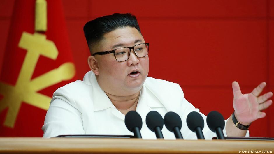 Nordkorea | Staatschef Kim Jong Un nimmt an einer Plenarsitzung der Arbeiterpartei in Pjöngjang teil